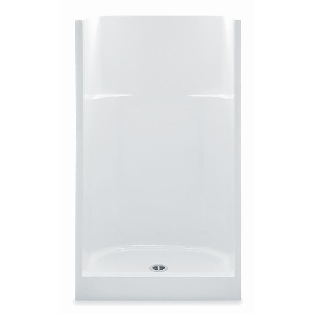 Aquatic  Shower Enclosures item 1363CNT-WH