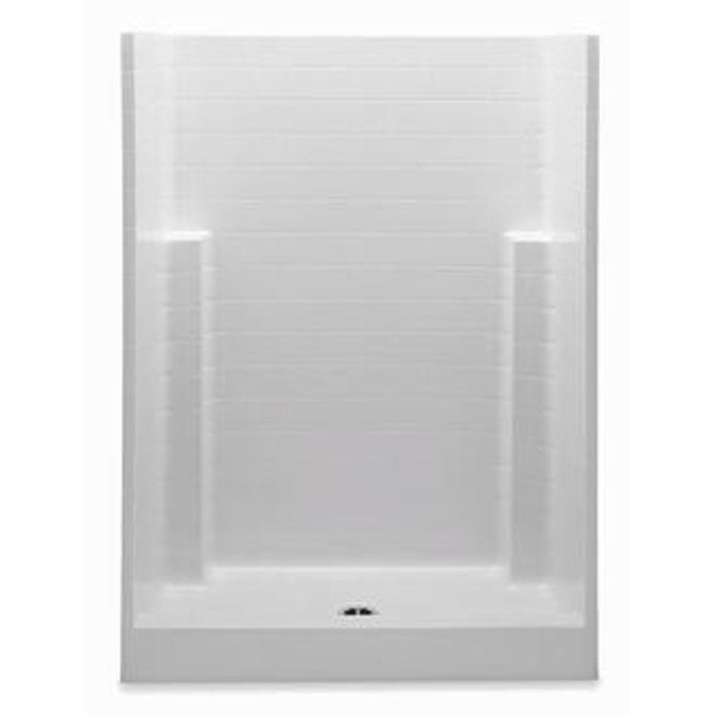 Aquatic  Shower Enclosures item 1543CTN-WH