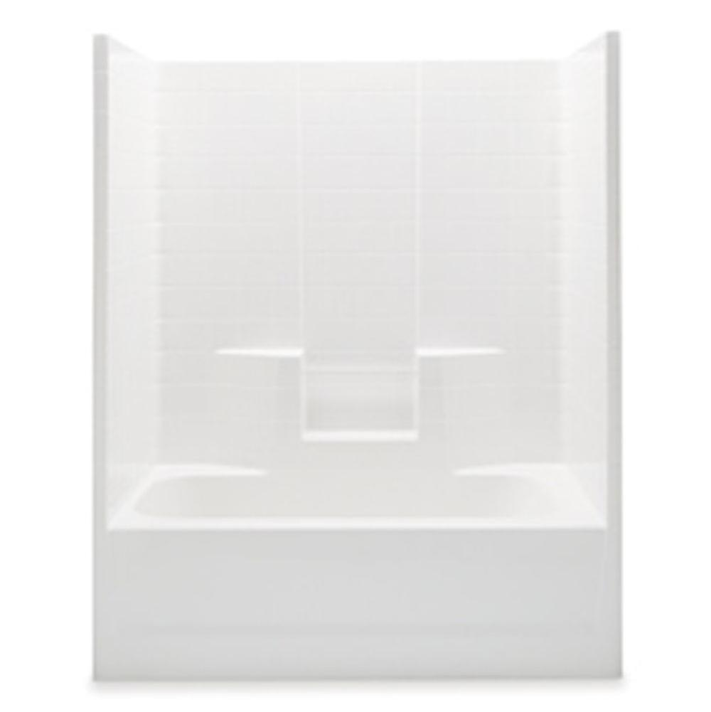 Aquatic  Tub Enclosures item 2603CTWRWP-AL