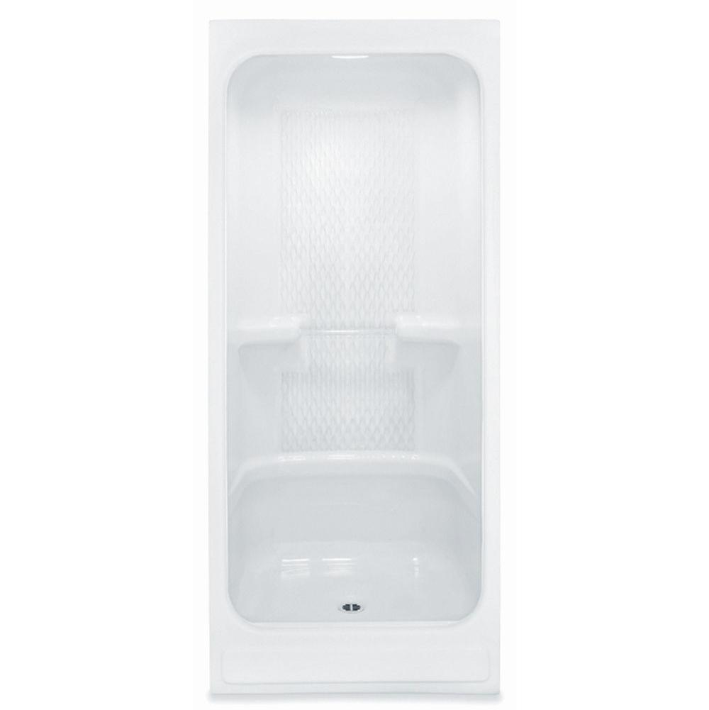 Aquatic Bypass Shower Enclosures item 36AC-WH