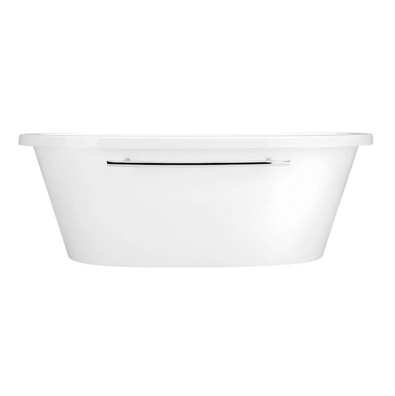 Aquatic Free Standing Soaking Tubs item W17AIR7240FTO-WH