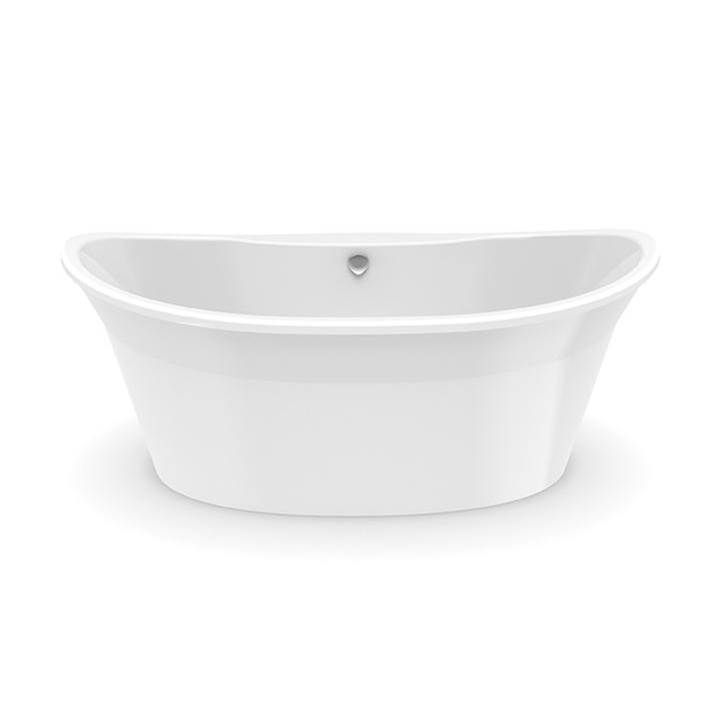 Aquatic Free Standing Soaking Tubs item W1AX6636FTO-WH
