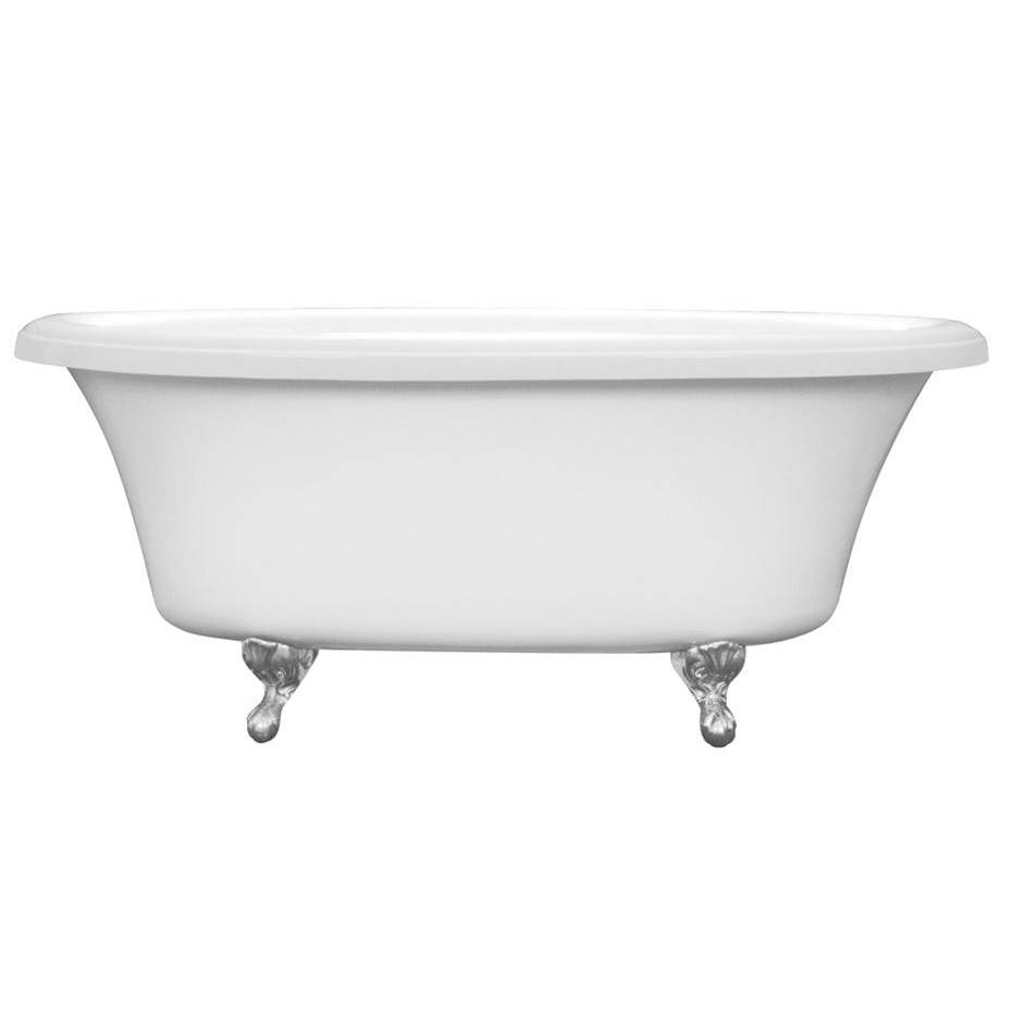 Aquatic Free Standing Soaking Tubs item W10AIR7240TO-WH