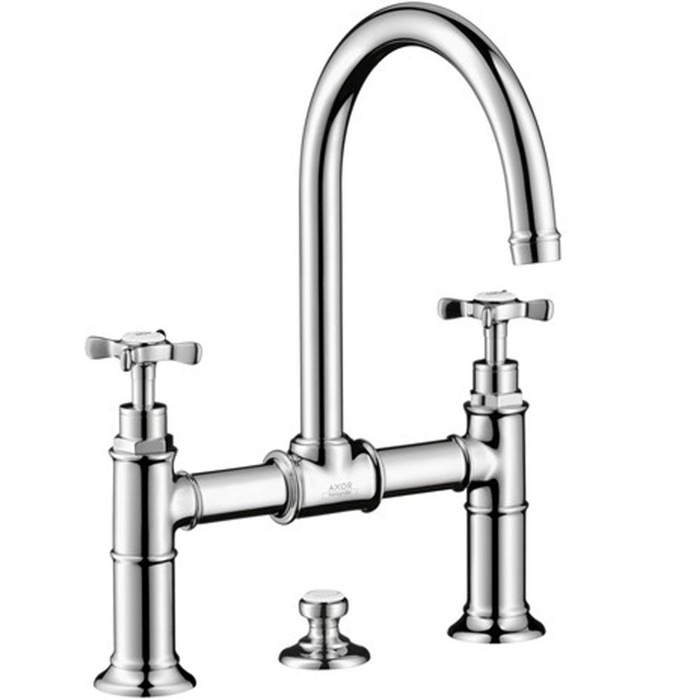 Bathroom Bridge Faucets. rohl a1419lp 2 acqui deck mount bridge ...
