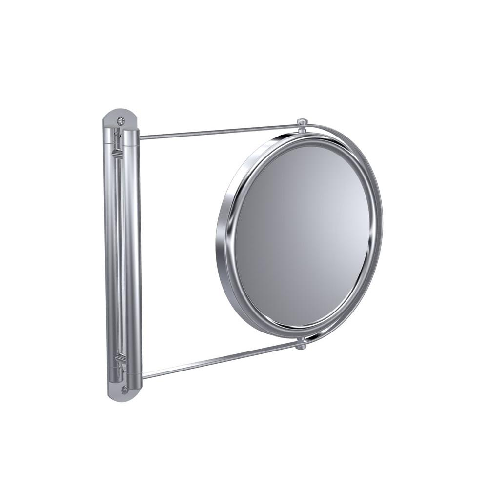Baci Remcraft Magnifying Mirrors Bathroom Accessories item E3-X SATIN NICKEL