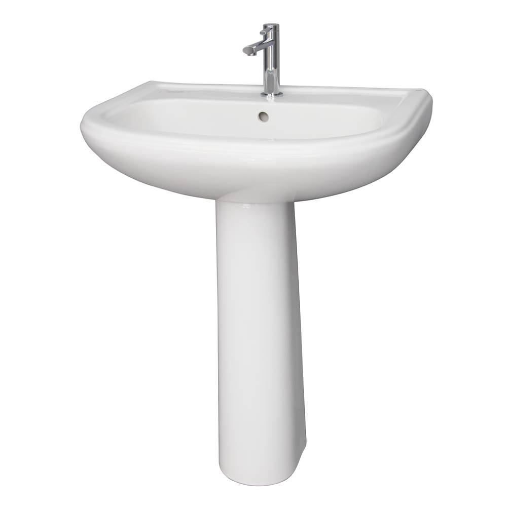 Barclay Complete Pedestal Bathroom Sinks item C/3-1050WH