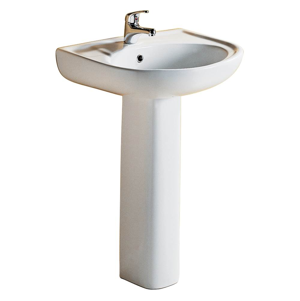 Barclay Complete Pedestal Bathroom Sinks item 3-171WH