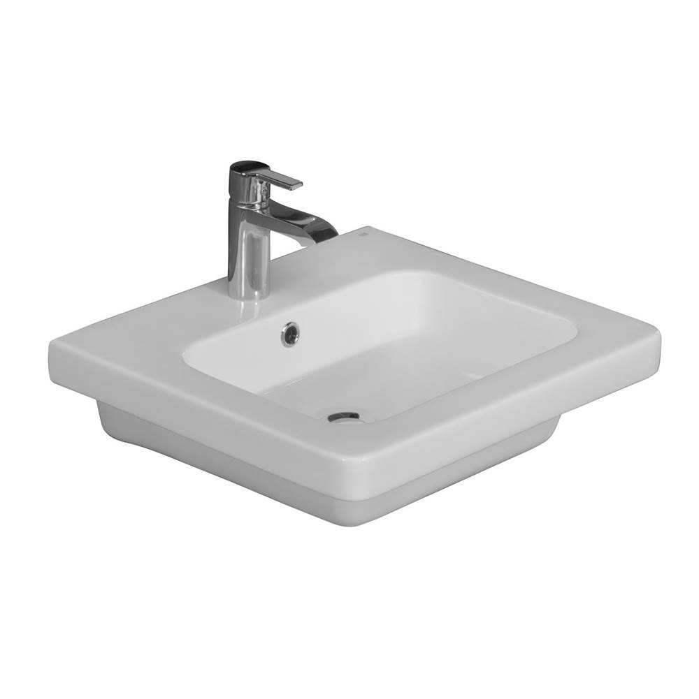 Barclay Wall Mounted Bathroom Sink Faucets item 4-1081WH
