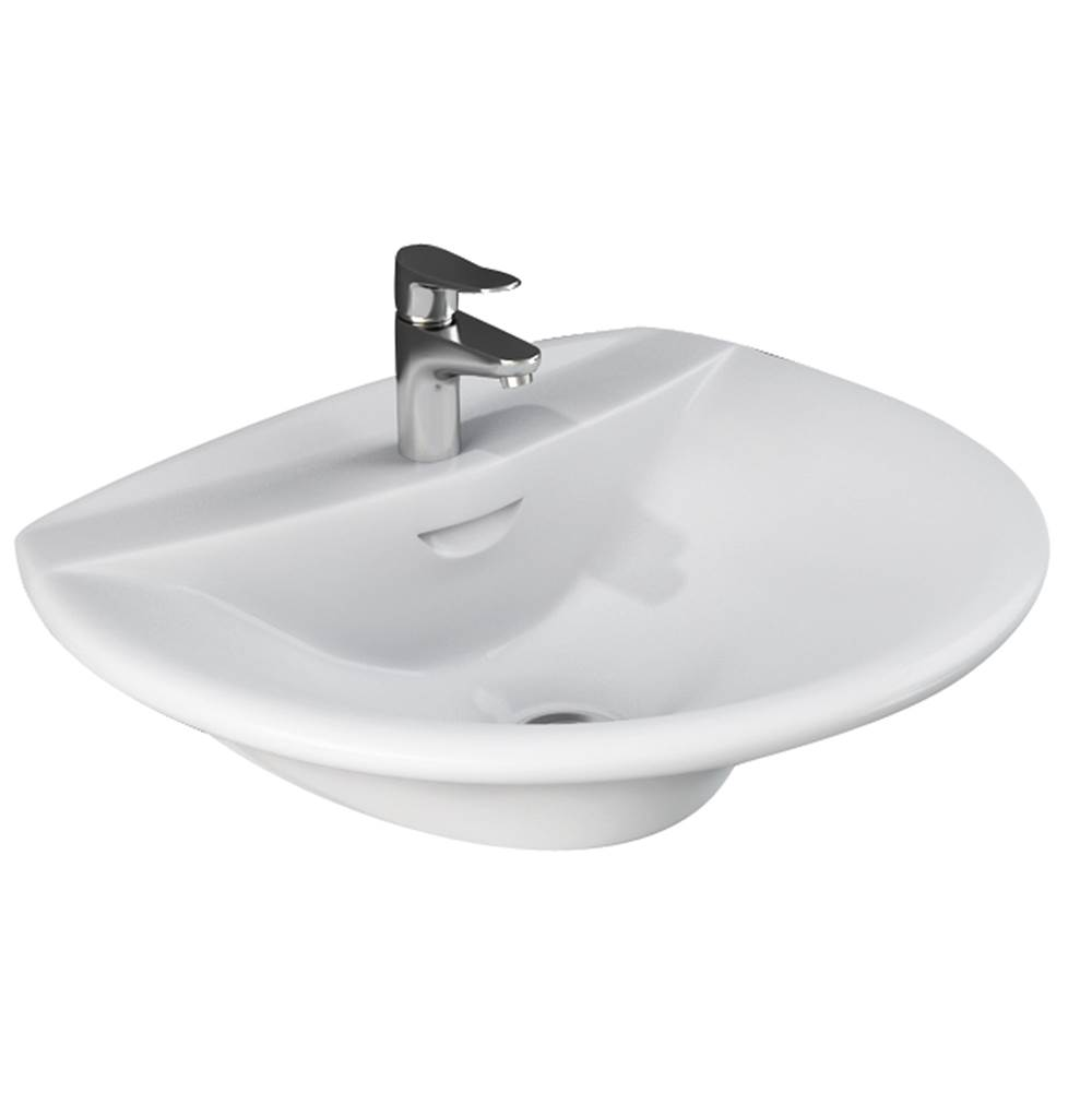 Barclay Wall Mounted Bathroom Sink Faucets item 4-121WH