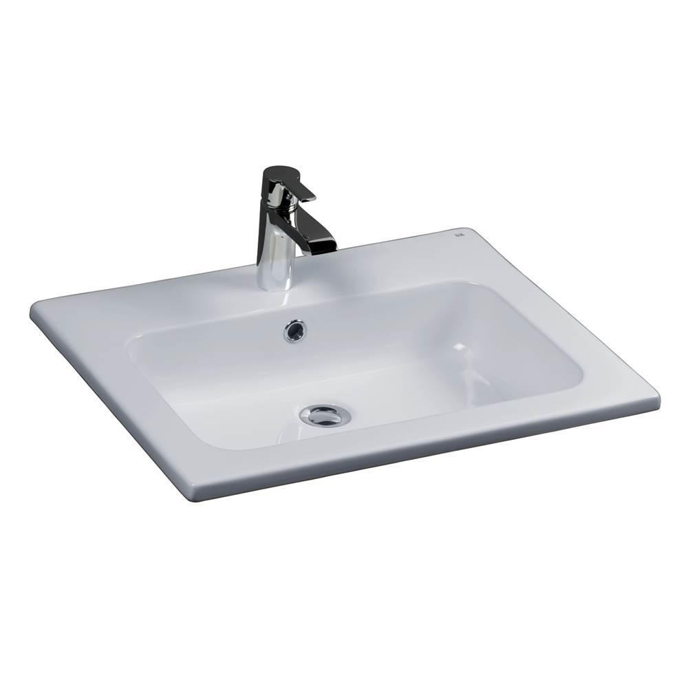 Barclay Drop In Bathroom Sinks item 4-158WH