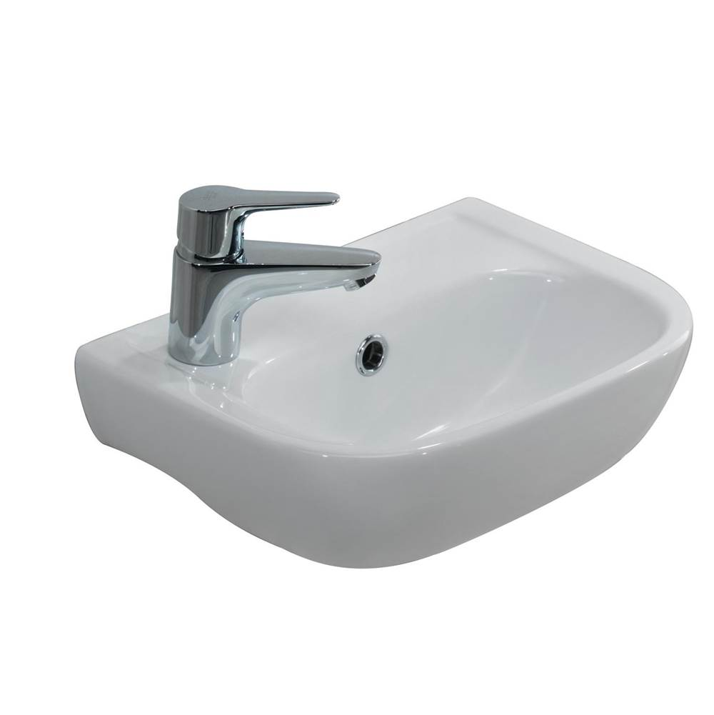 Barclay Wall Mounted Bathroom Sink Faucets item 4-2000WH