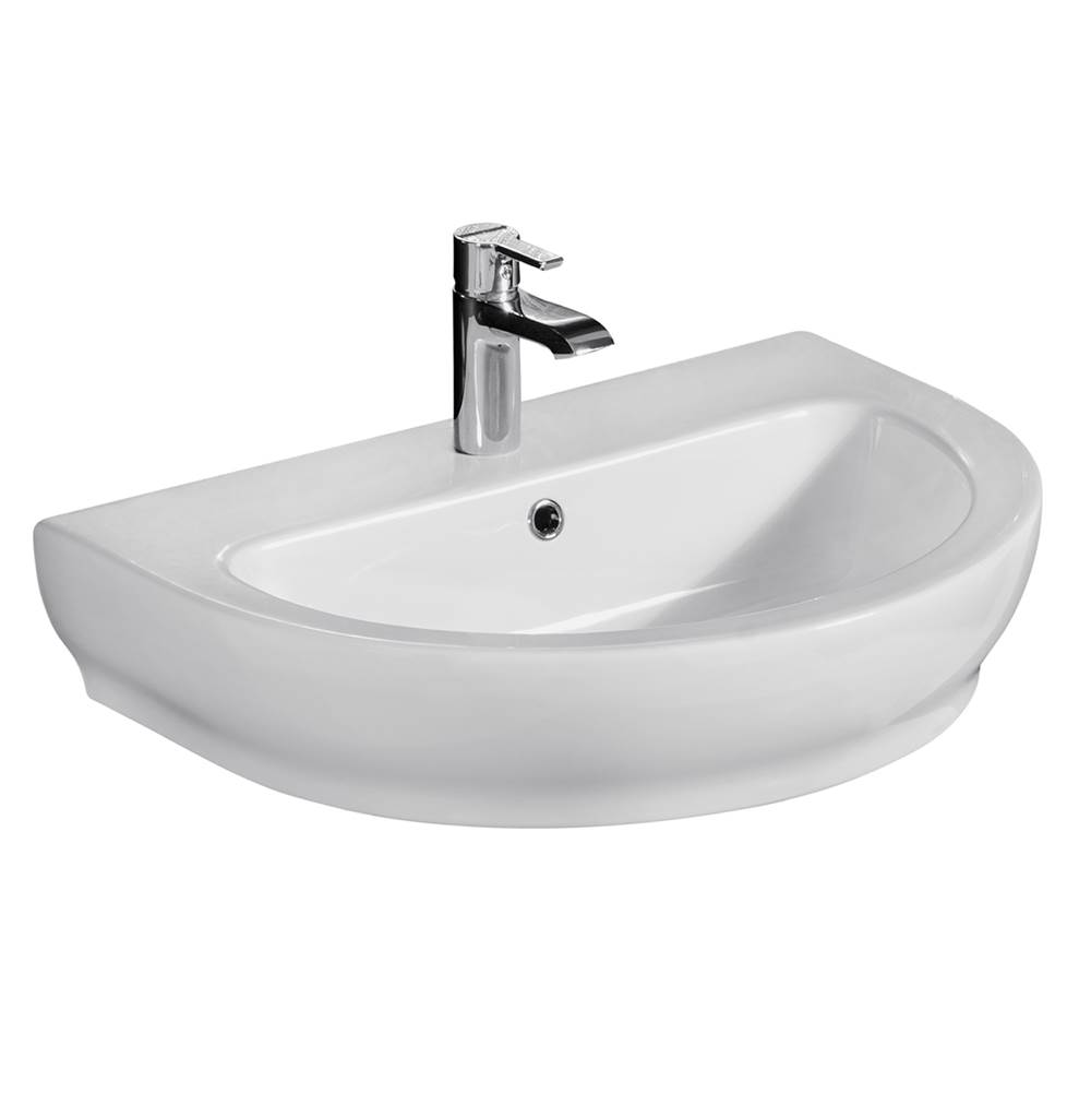 Barclay Wall Mounted Bathroom Sink Faucets item 4-2051WH