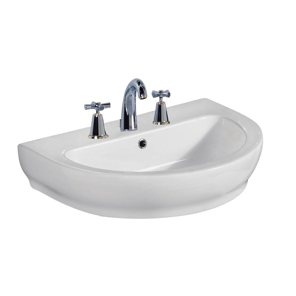 Barclay Wall Mounted Bathroom Sink Faucets item 4-2058WH