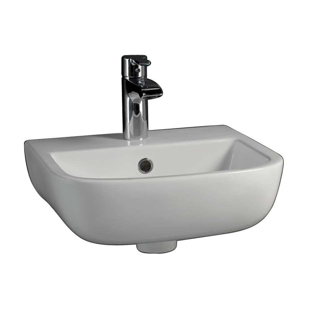 Barclay Wall Mount Bathroom Sinks item 4-228WH