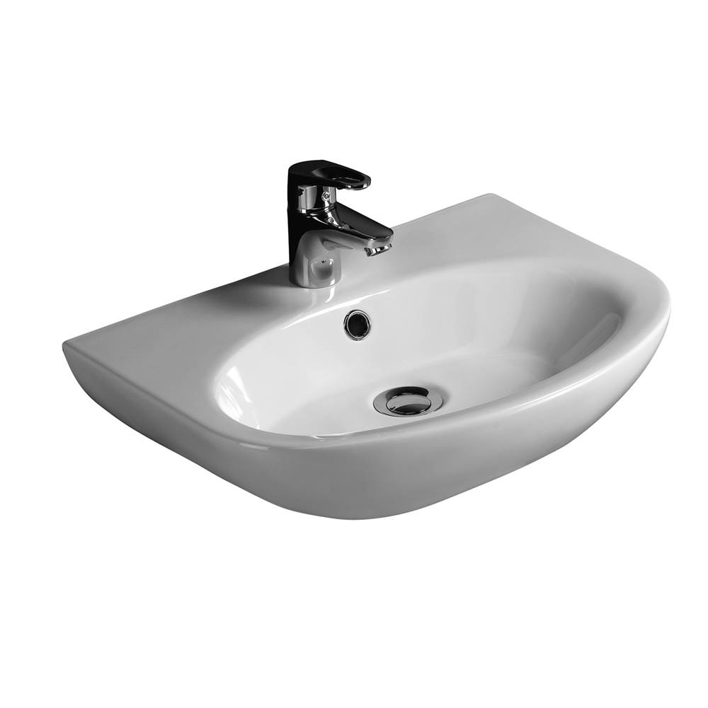 Barclay Wall Mount Bathroom Sinks item 4-321WH
