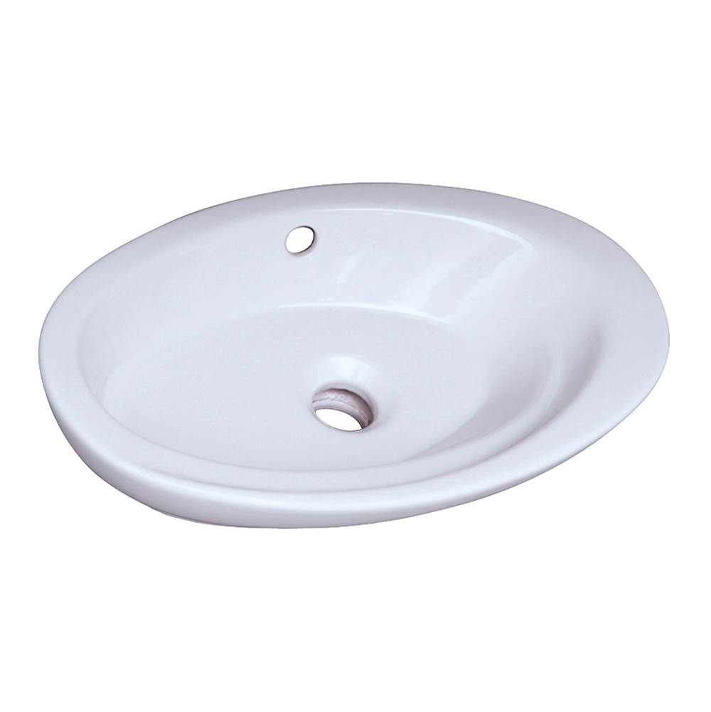 Barclay Wall Mount Bathroom Sinks item 4-323WH