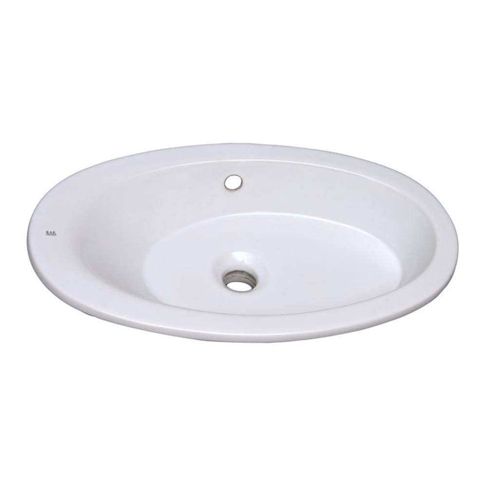 Barclay Drop In Bathroom Sinks item 4-327WH