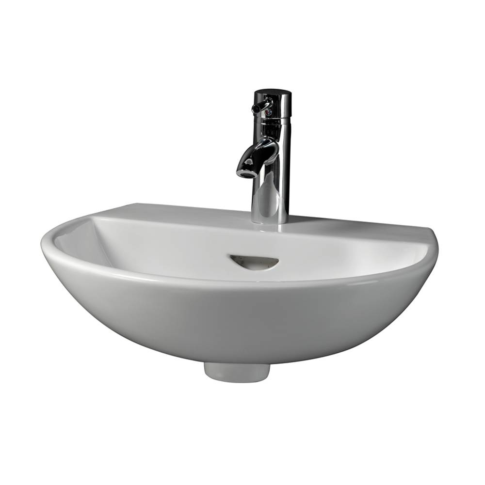 Barclay Wall Mount Bathroom Sinks item 4-358WH