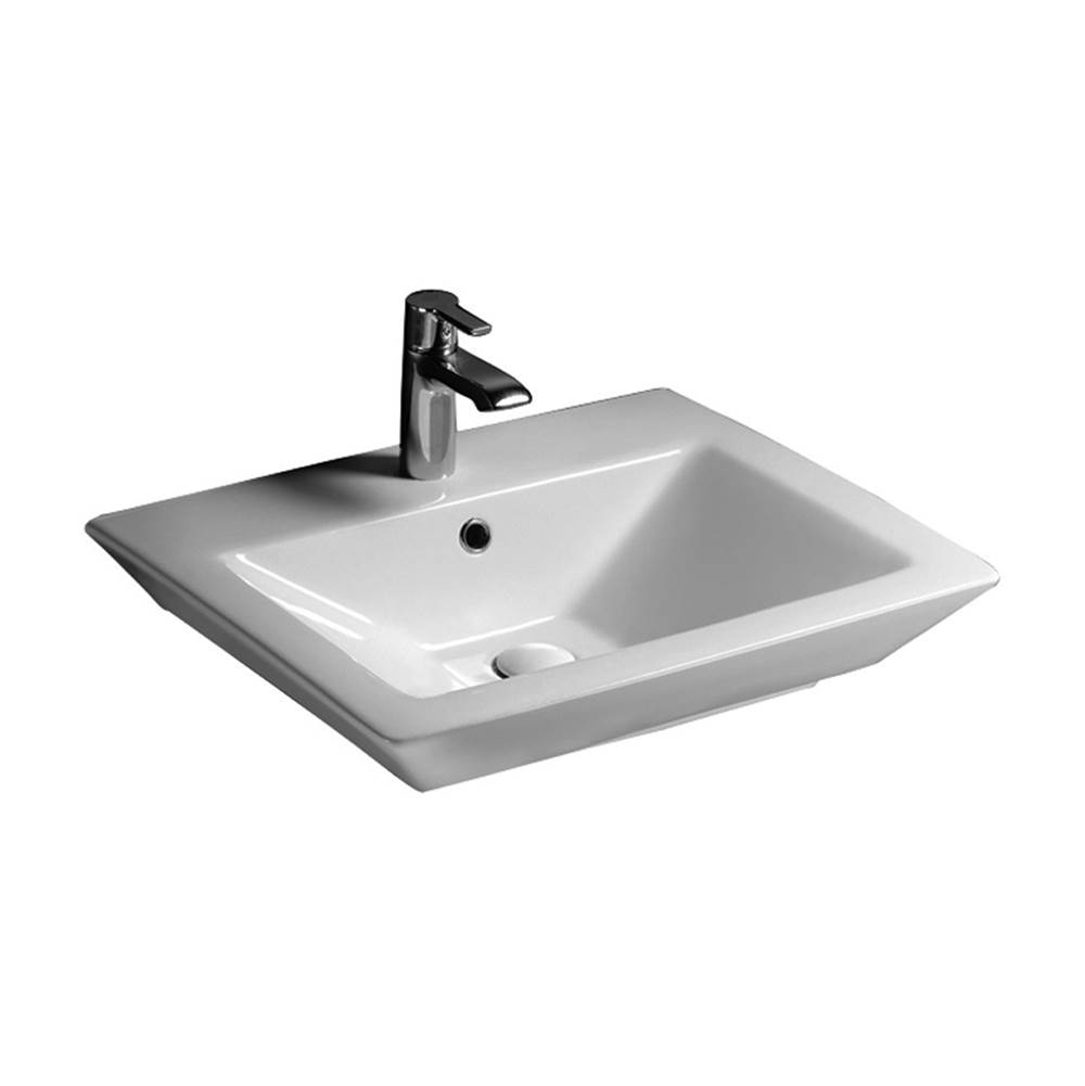 Barclay Wall Mount Bathroom Sinks item 4-361WH