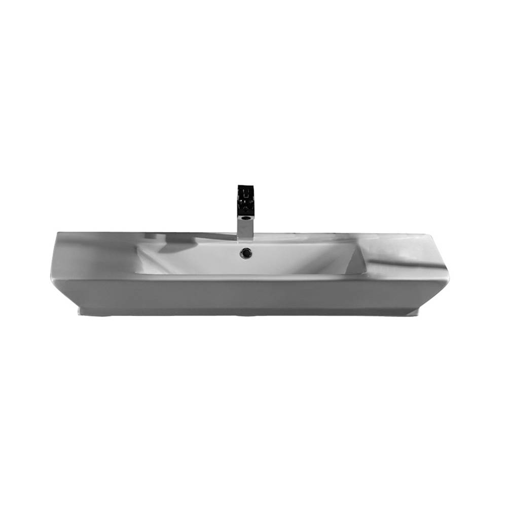 Barclay Wall Mount Bathroom Sinks item 4-362WH