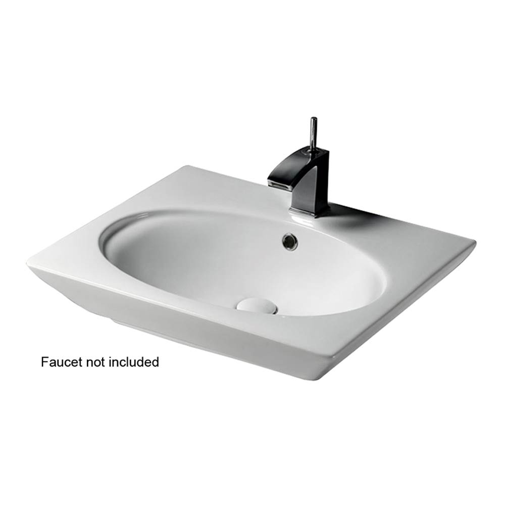 Barclay Wall Mount Bathroom Sinks item 4-371WH