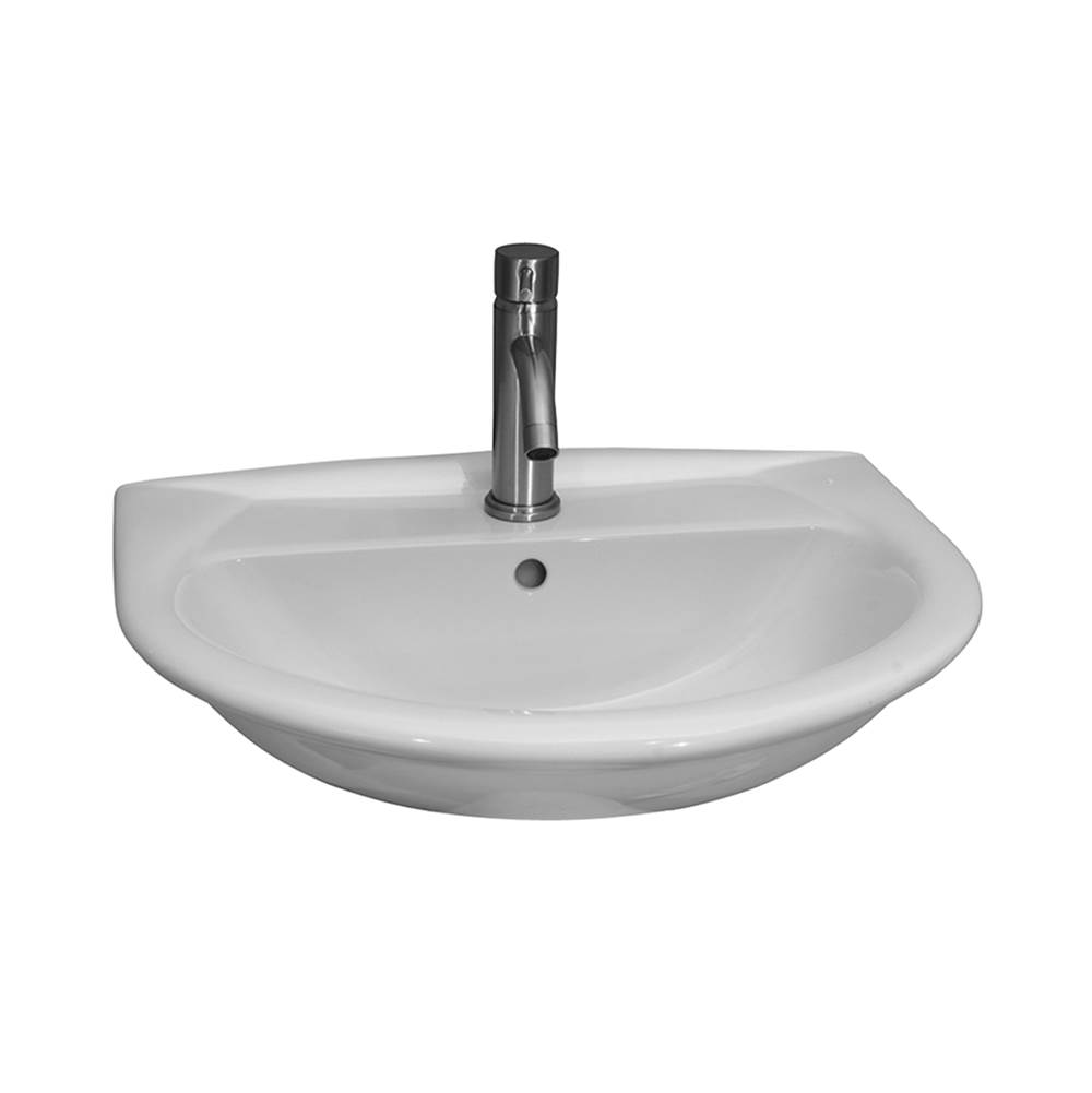 Barclay Wall Mount Bathroom Sinks item 4-854WH