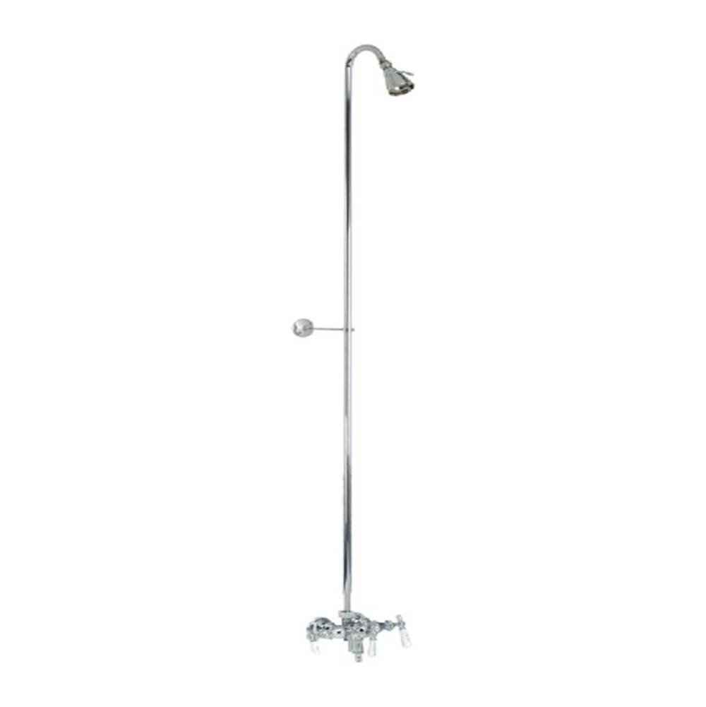 Barclay  Shower Only Faucets With Head item 4010-PL-CP