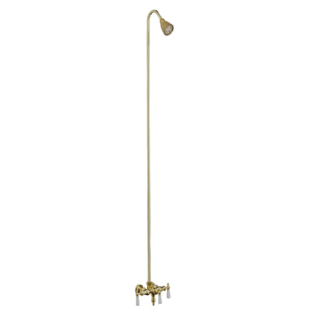 Barclay  Shower Only Faucets With Head item 4010-PL-PB