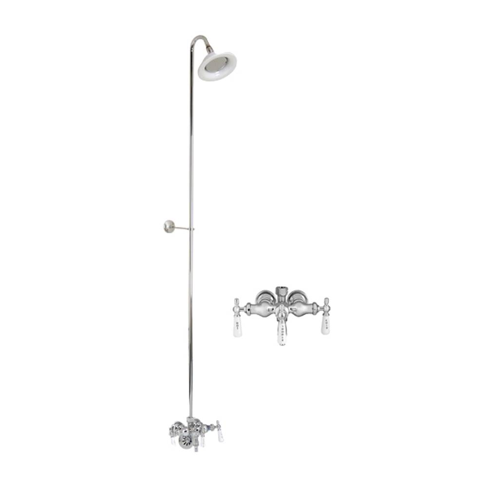 Barclay  Shower Only Faucets With Head item 4011-PL-CP