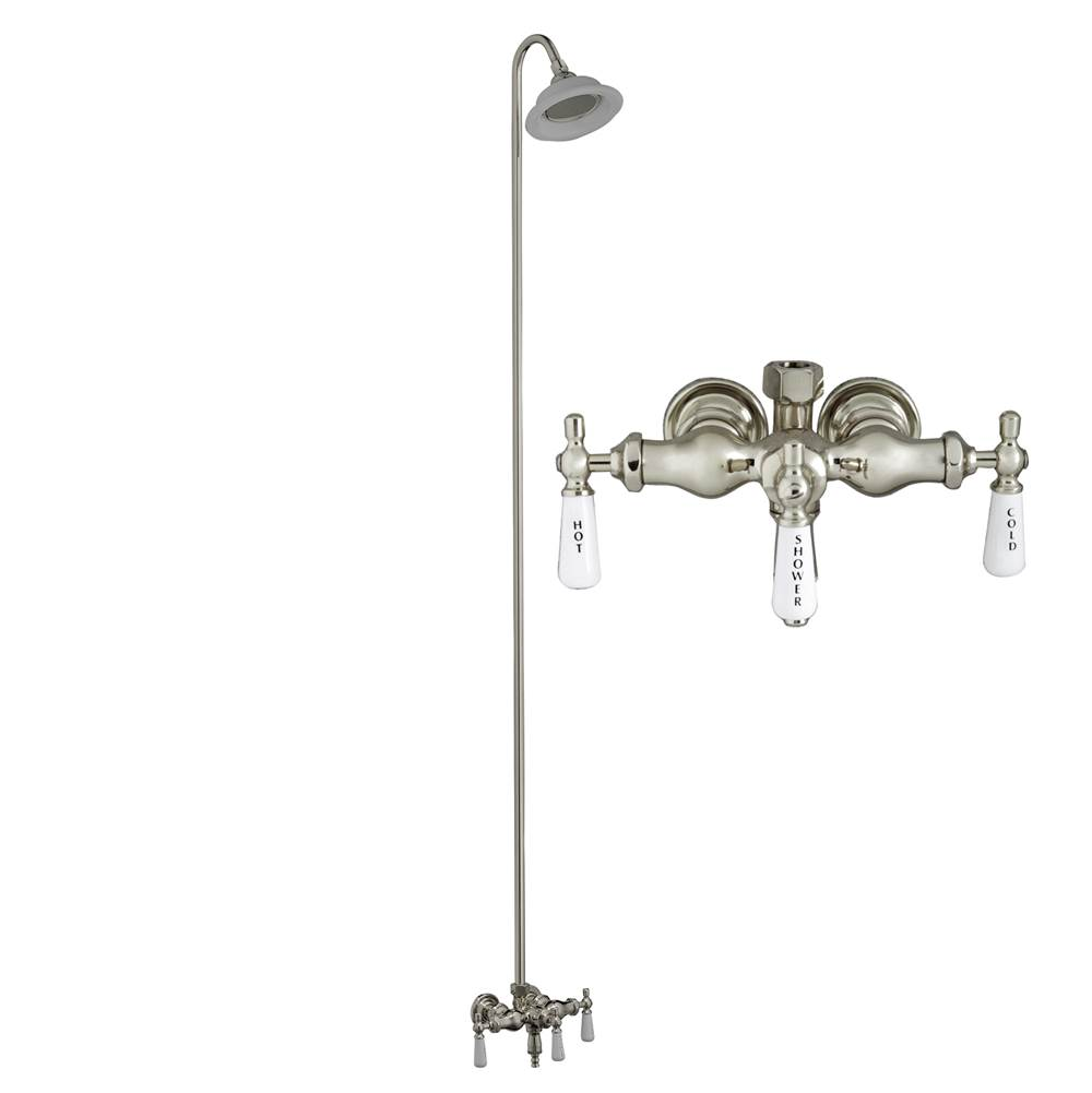 Barclay  Shower Only Faucets With Head item 4011-PL-PN