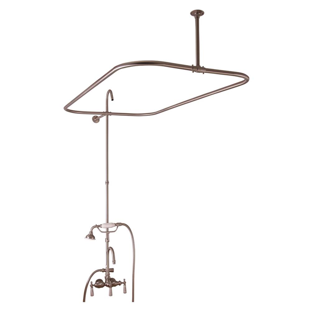 Barclay  Roman Tub Faucets With Hand Showers item 4144-48-BN