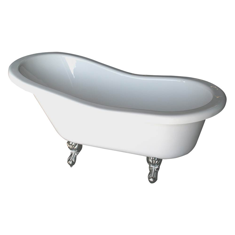Barclay Clawfoot Soaking Tubs item ADTS60-WH-WH