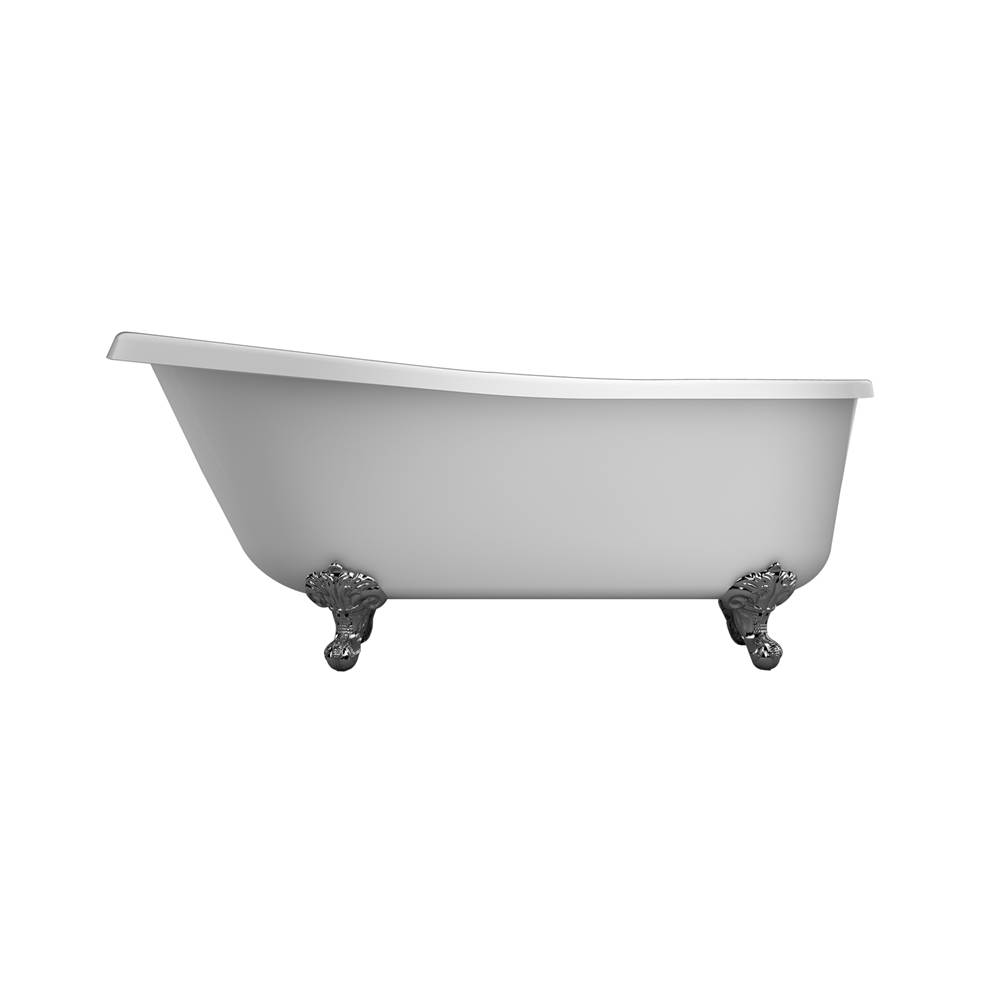 Barclay Clawfoot Soaking Tubs item ASN67IS-WH-ORB