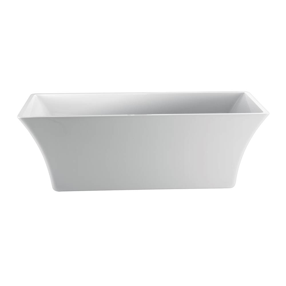 Barclay Free Standing Soaking Tubs item ATCRECN67F-WH