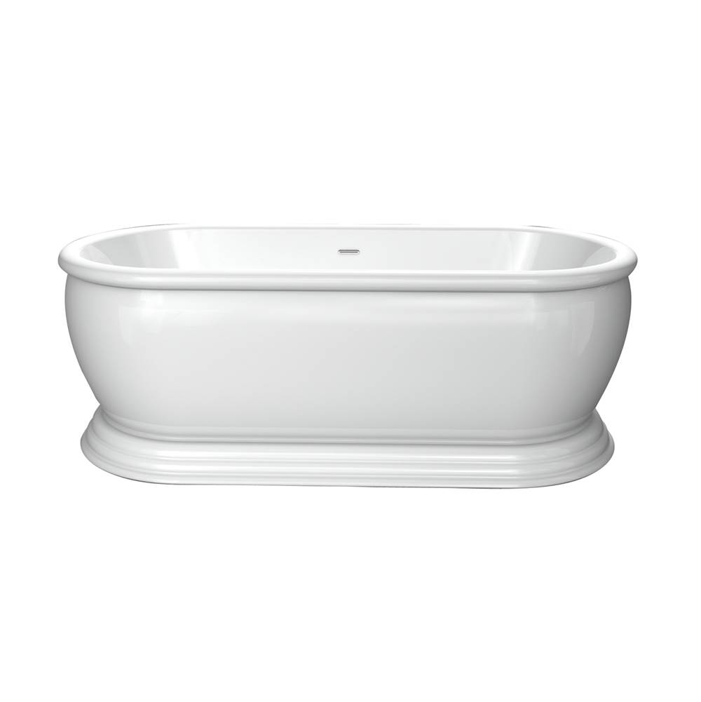 Barclay Free Standing Soaking Tubs item ATDRN69B-WH