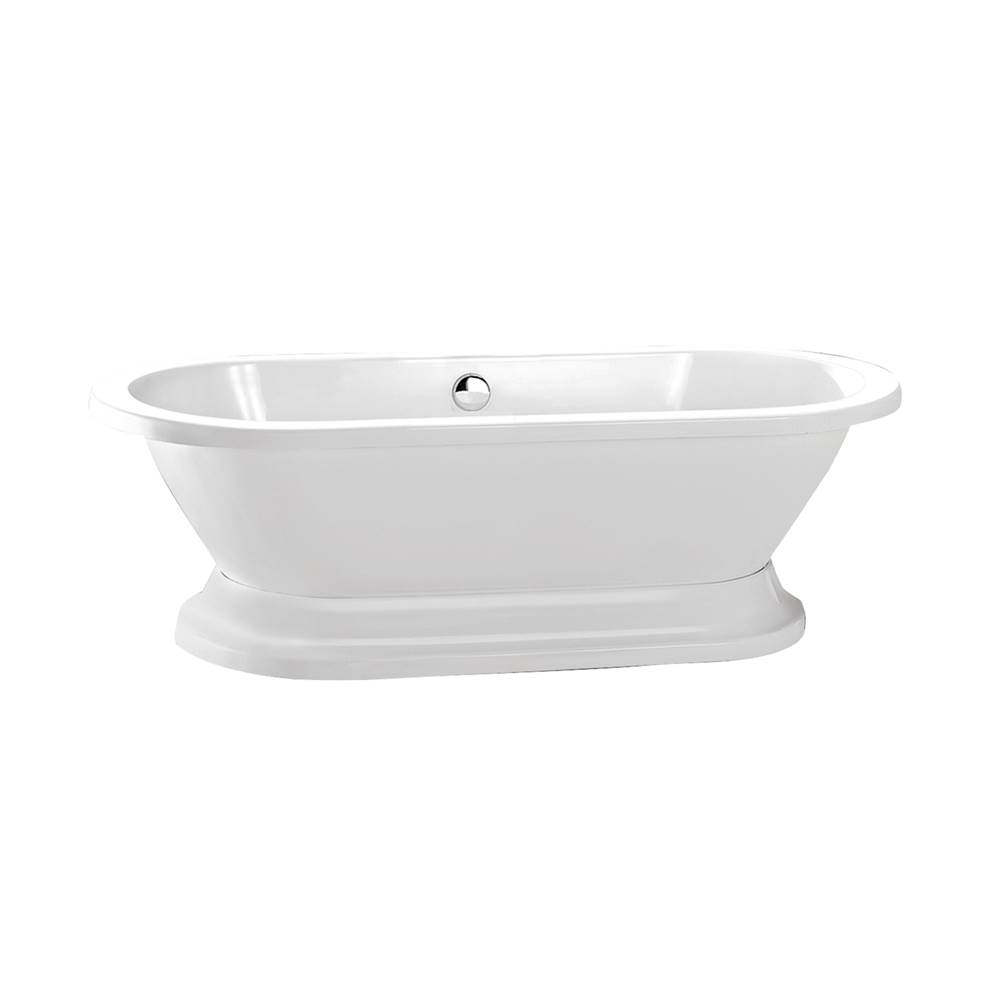 Barclay Free Standing Soaking Tubs item ATDR7H70B-WH