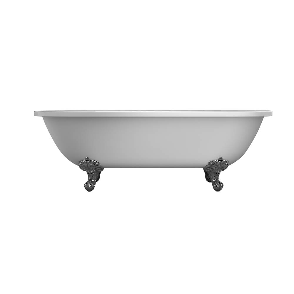 Barclay Clawfoot Soaking Tubs item ATDRN70I-WH-CP