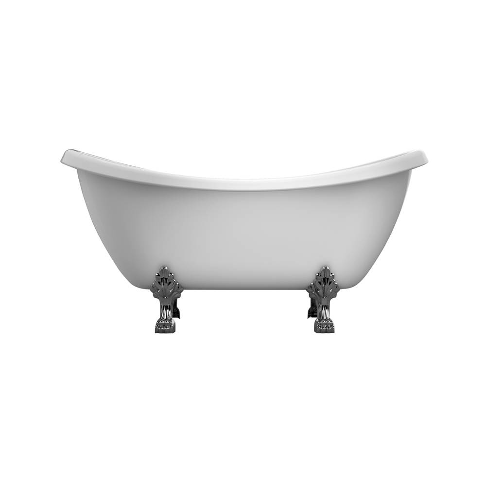 Barclay Clawfoot Soaking Tubs item ATDSN69-WH-BN