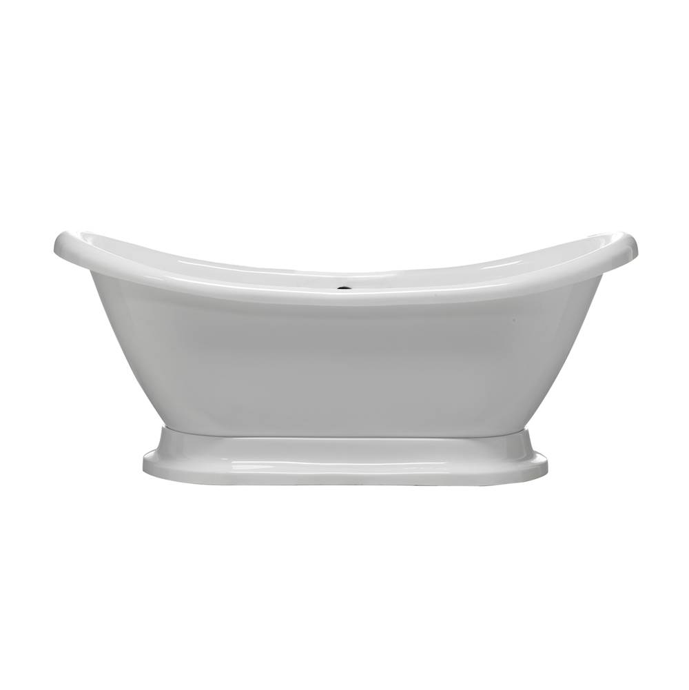 Barclay Drop In Soaking Tubs item ATDS7H69B-WH
