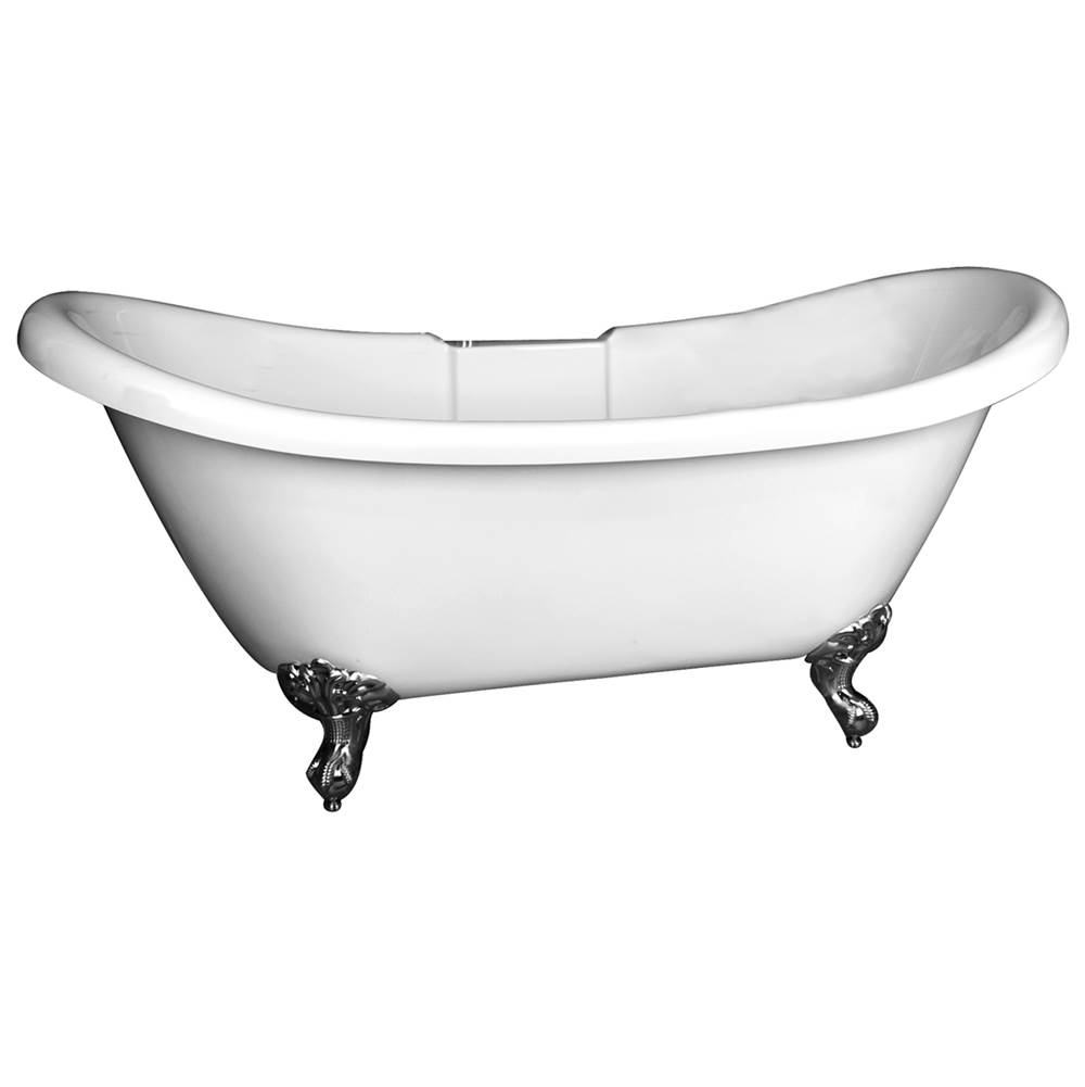 Barclay Clawfoot Soaking Tubs item ATDS7H69R-WH-BN