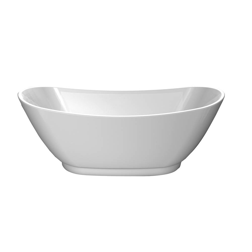 Barclay Free Standing Soaking Tubs item ATDSN70B-WH
