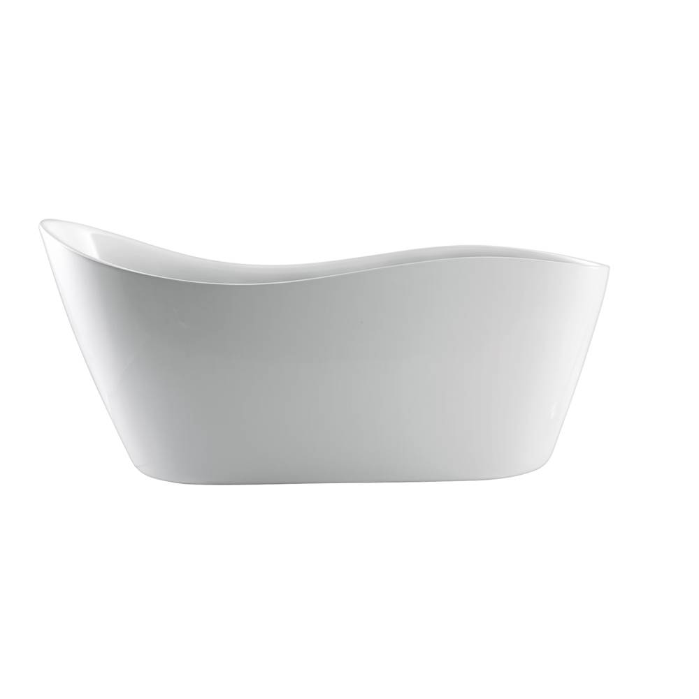 Barclay Drop In Soaking Tubs item ATFSN65-WH
