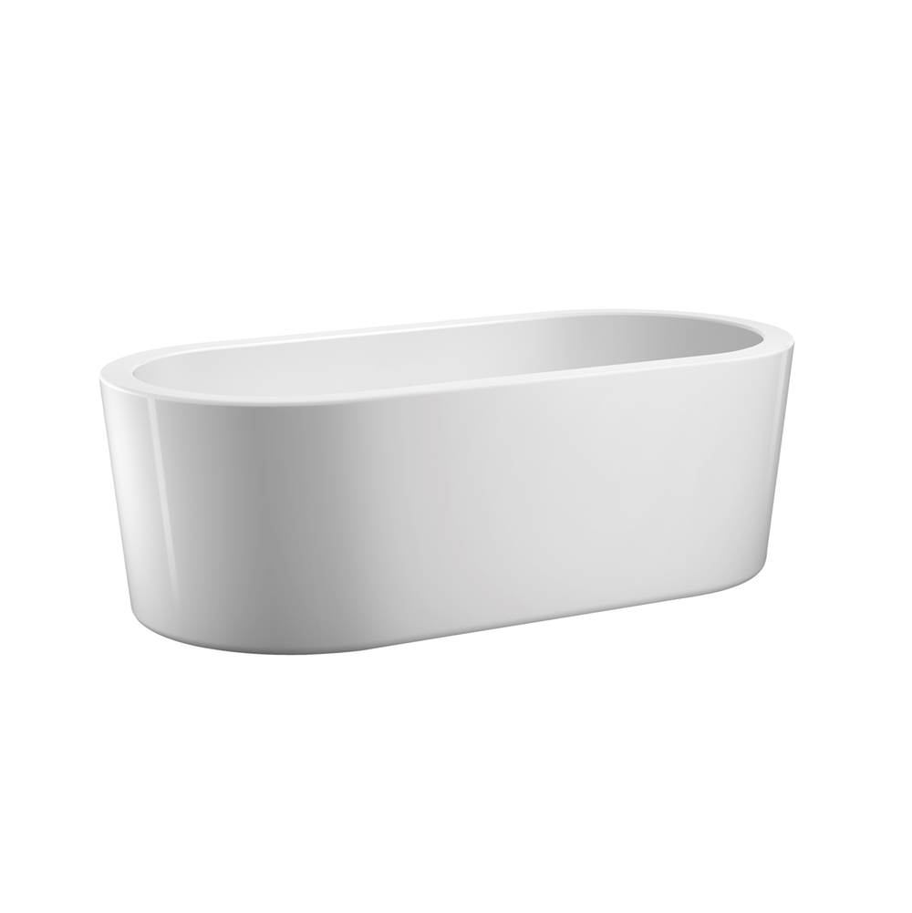 Barclay Free Standing Soaking Tubs item ATOVN59MF-WH
