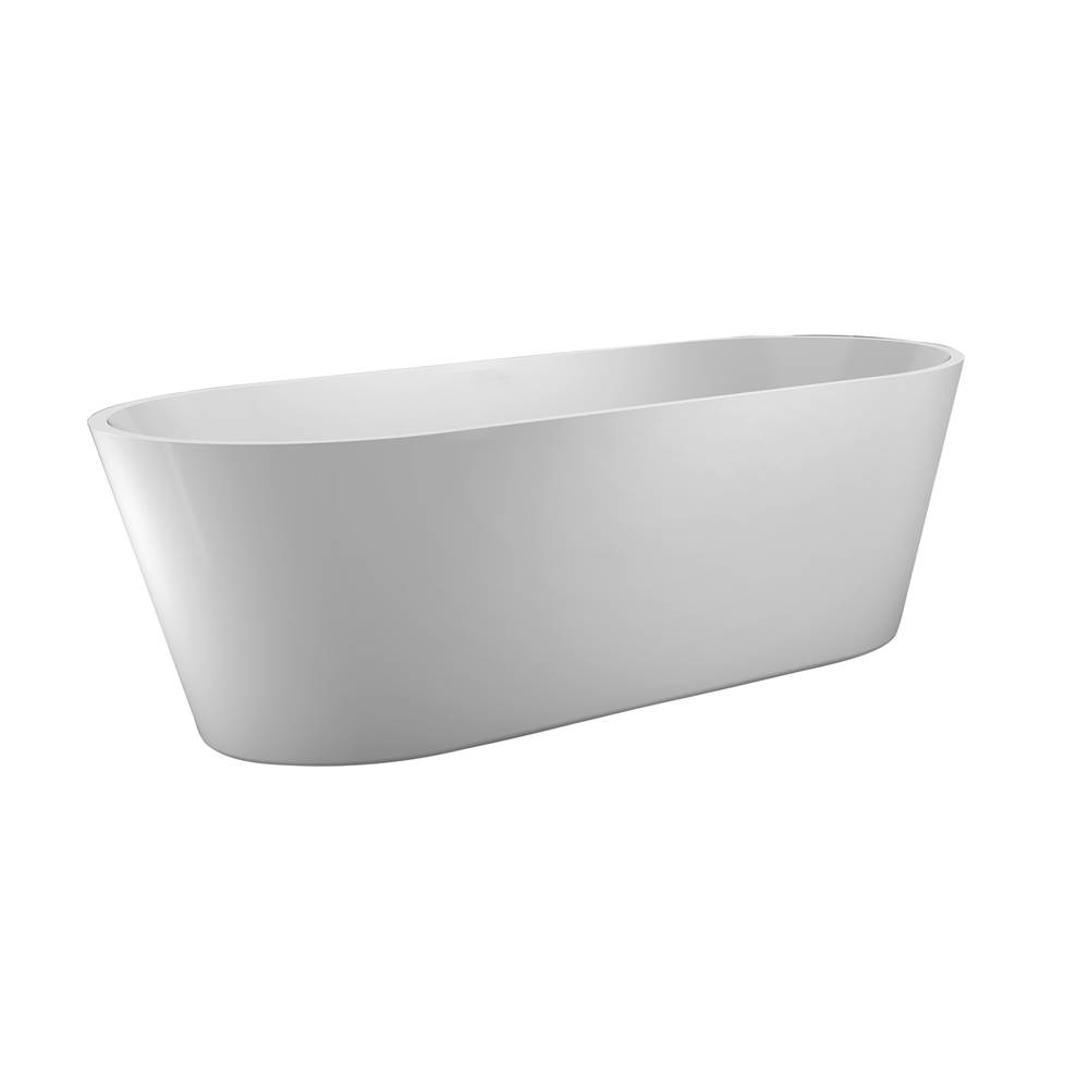 Barclay Free Standing Soaking Tubs item ATOVN63I-WH