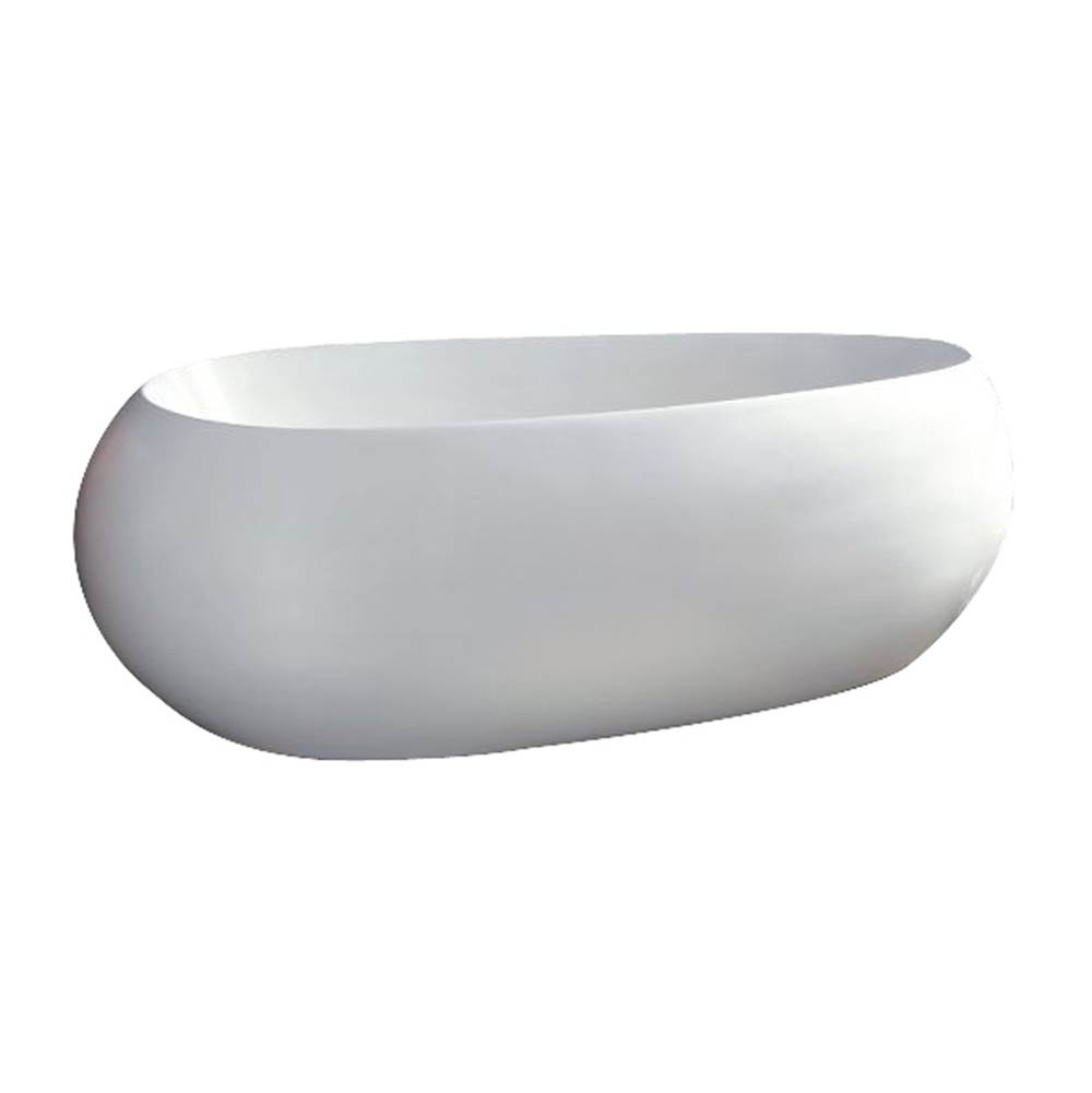 Barclay Free Standing Soaking Tubs item ATOVN70F-WH