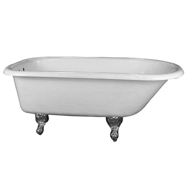 Barclay Clawfoot Soaking Tubs item ATR60-WH-CP