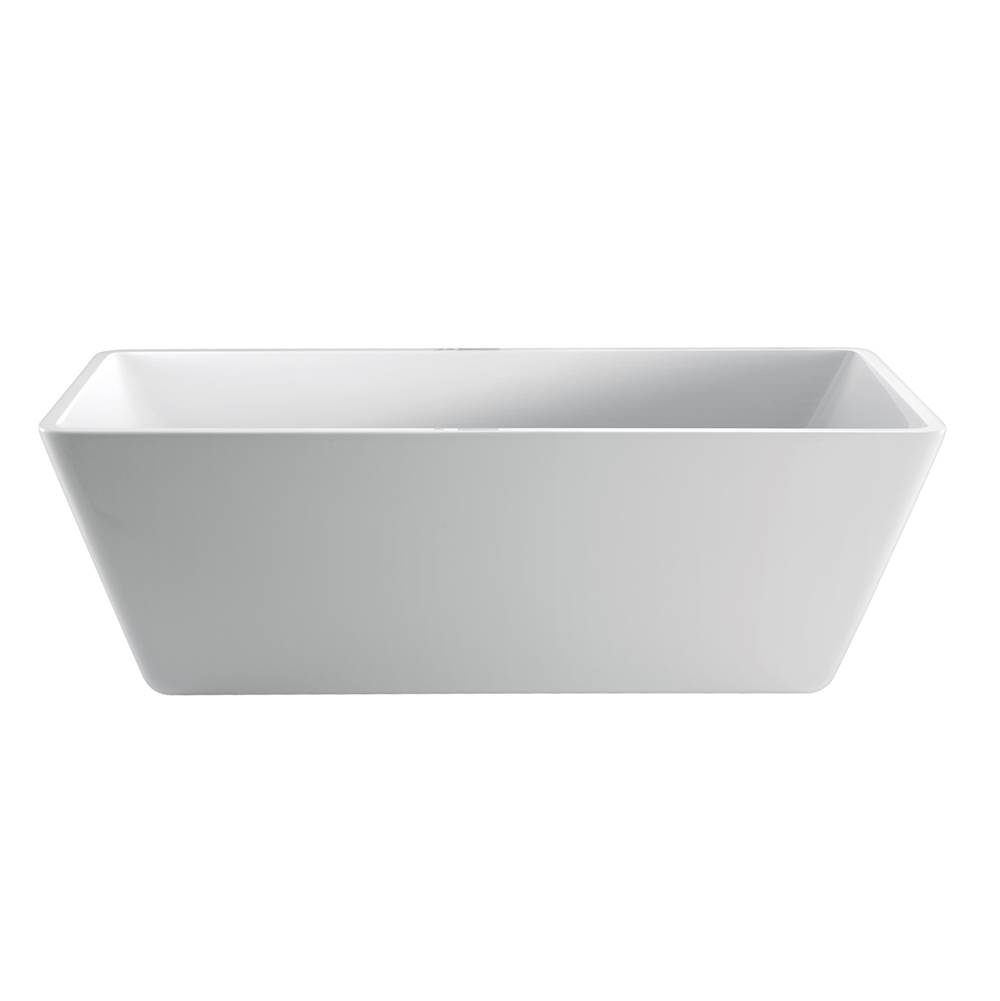 Barclay Free Standing Soaking Tubs item ATRECN64F-WH