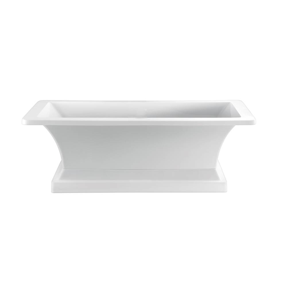 Barclay Free Standing Soaking Tubs item ATRECN67OB-WH