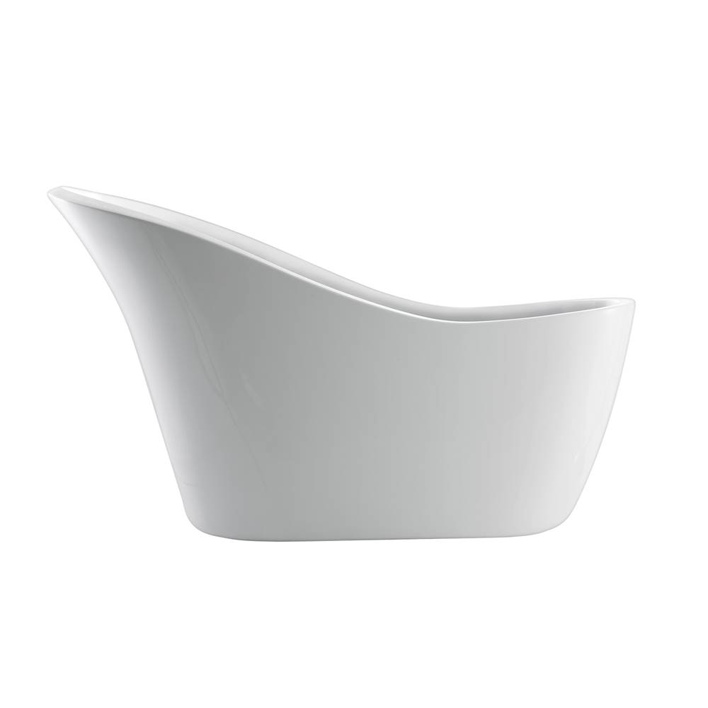 Barclay Free Standing Soaking Tubs item ATSN70F-WH