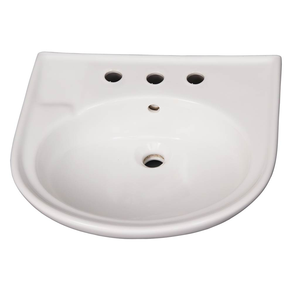Barclay Complete Pedestal Bathroom Sinks item B/3-178WH